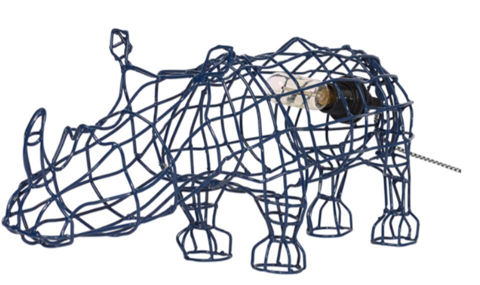 rhino lamp