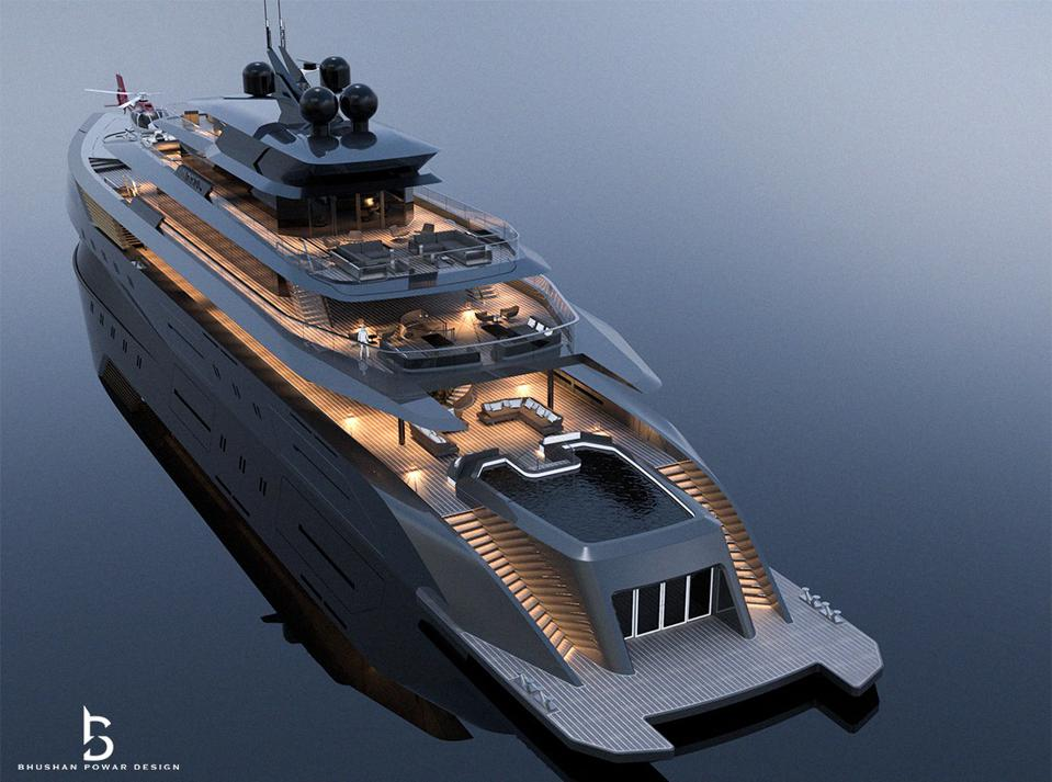 @theyachtmogul's concept yacht