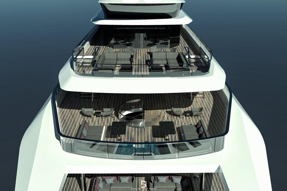 300-foot long concept yacht