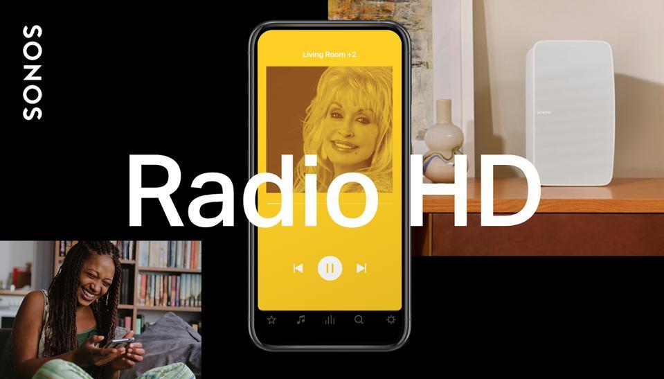 Sonos Radio HD featuring Dolly Parton.