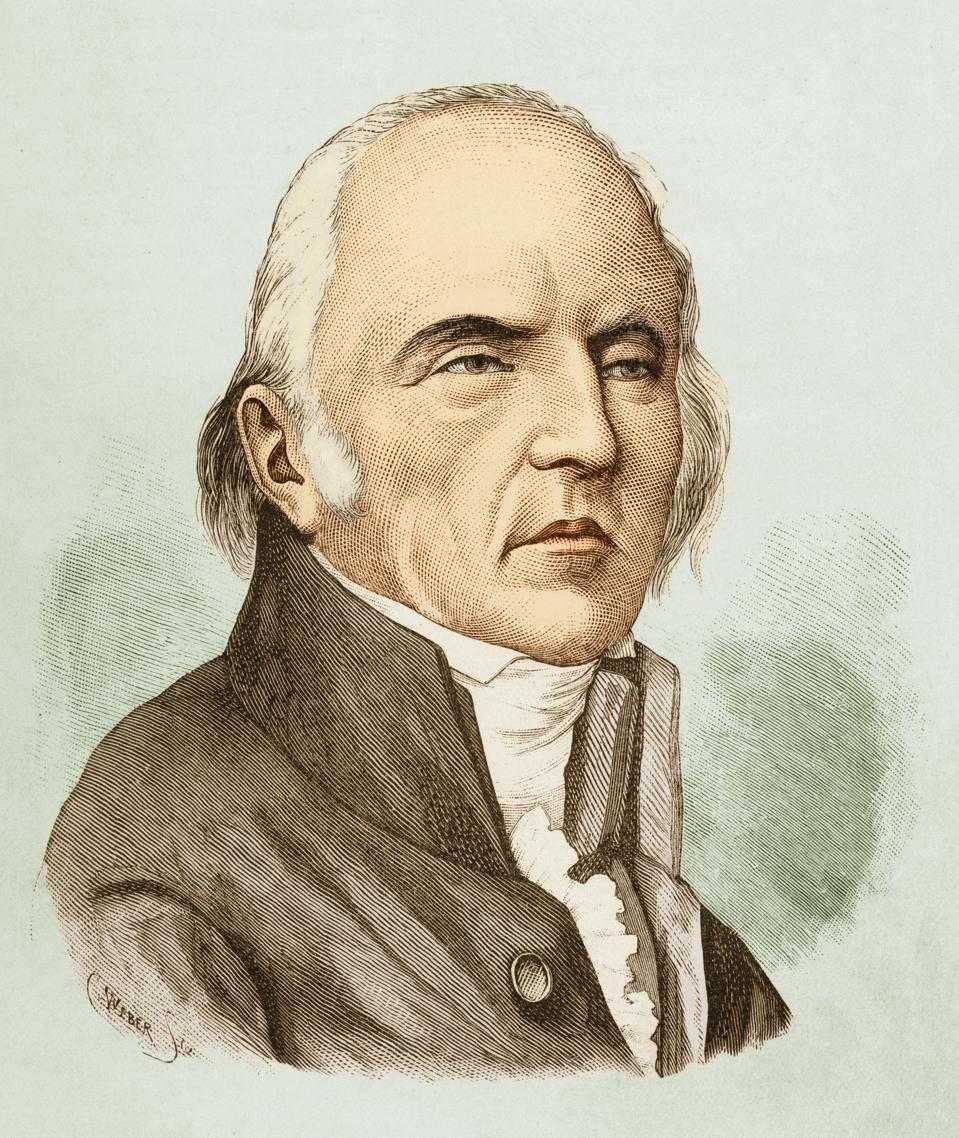 Portrait Of Jean Baptiste Lamarck