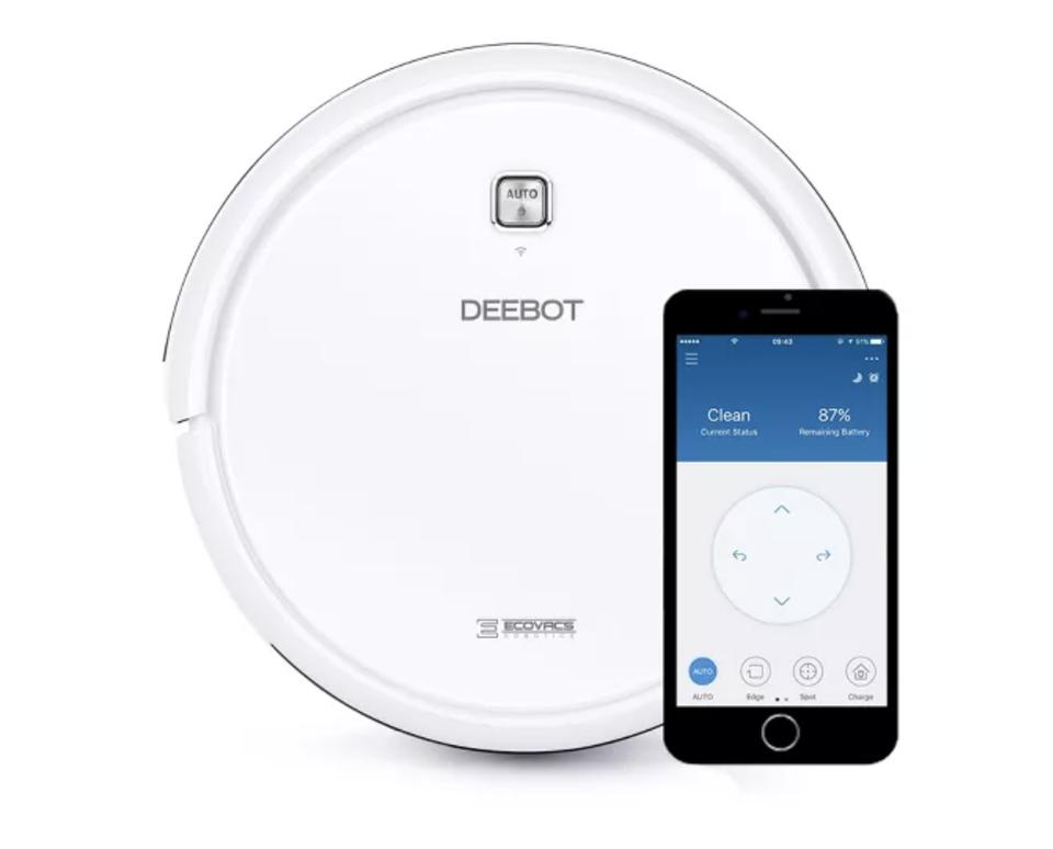 Ecovacs DEEBOT N79W Multi-Surface Robot Vacuum Cleaner with App Control