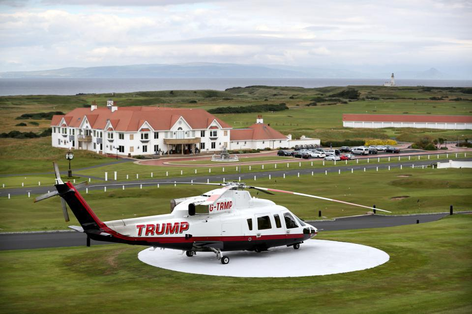 Trump's helicopter for sale
