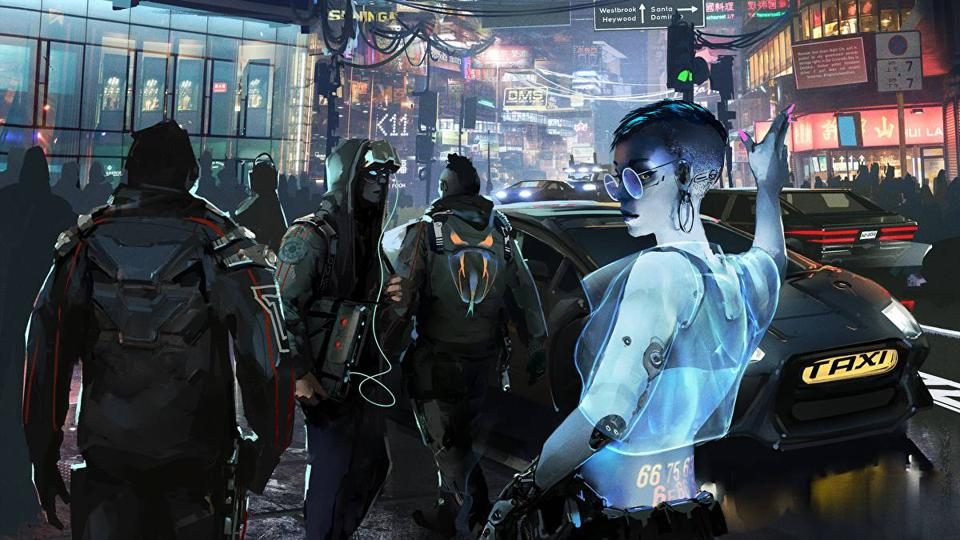 The cover of Cyberpunk Red