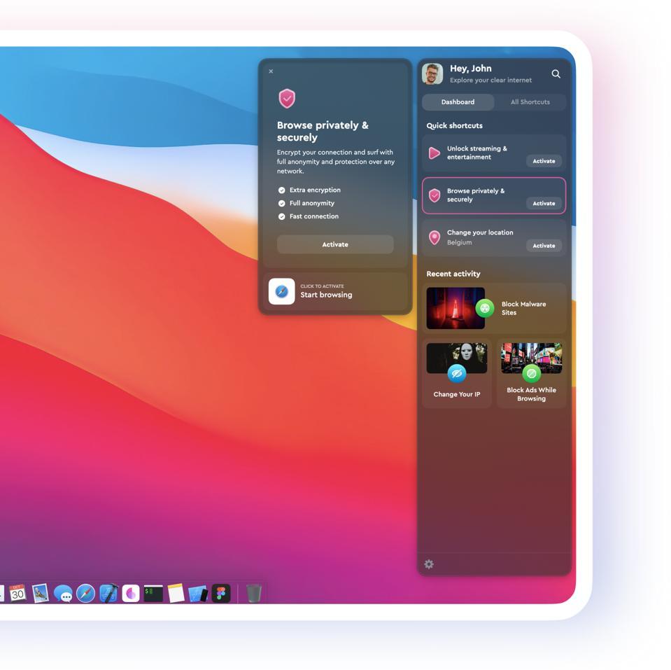 ClearVPN screenshot