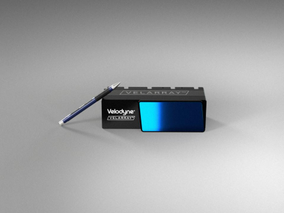 Velodyne Velarray H800 lidar, expected to be priced at $500 in production volumes