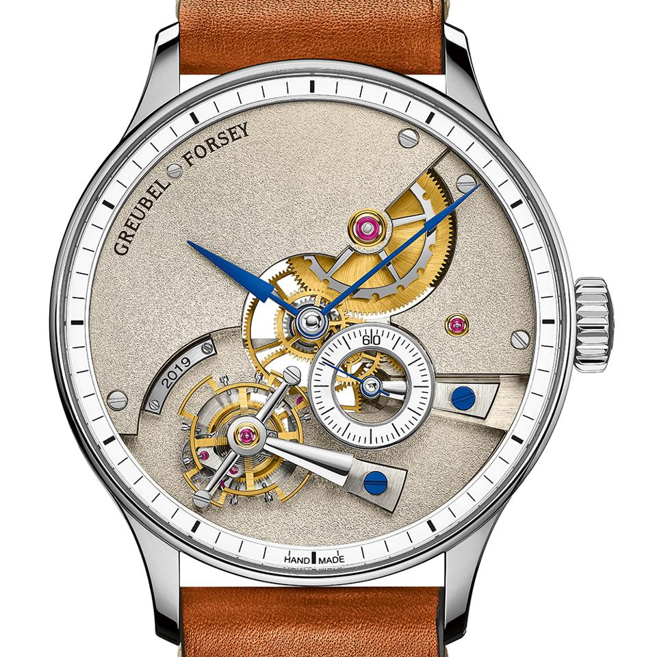 The Greubel Forsey Hand Made 1, winner of the Men's Complication prize.