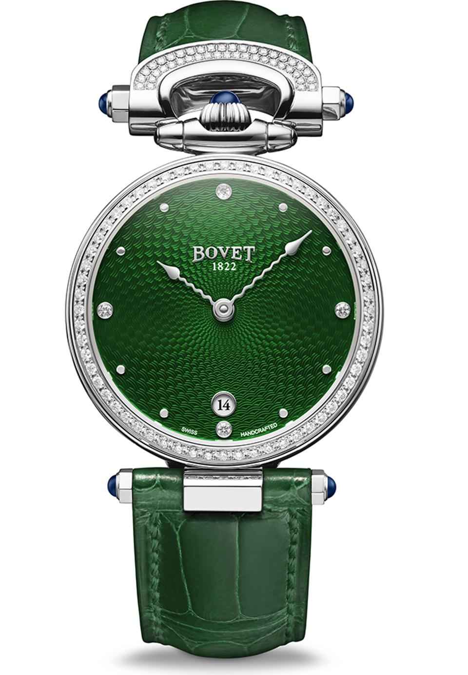 The Bovet 1822 Miss Audrey won the top Ladies' prize.