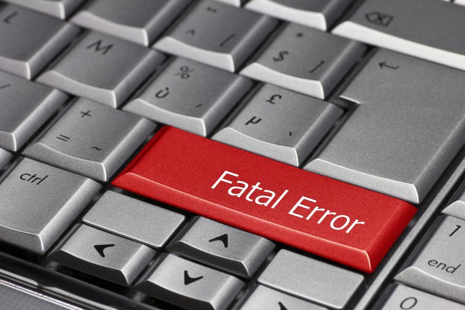 Computer key - Fatal Error