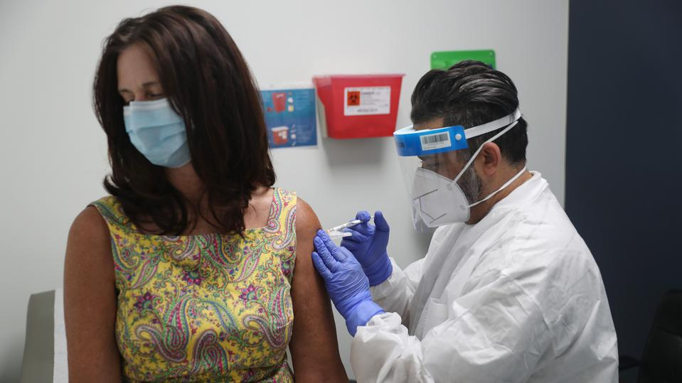 Florida Volunteers Take Part In COVID-19 Vaccine Trials