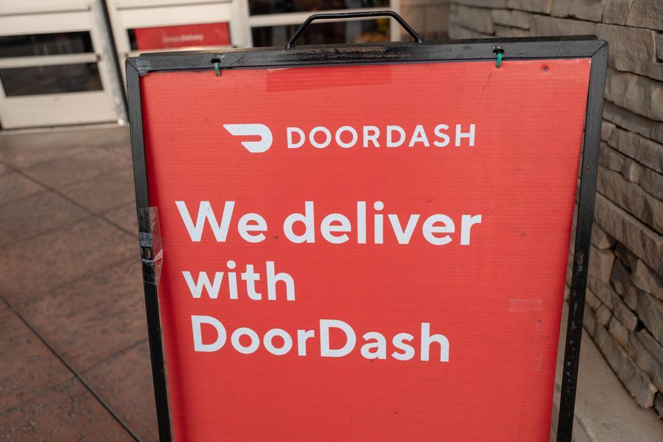 We Deliver With Doordash
