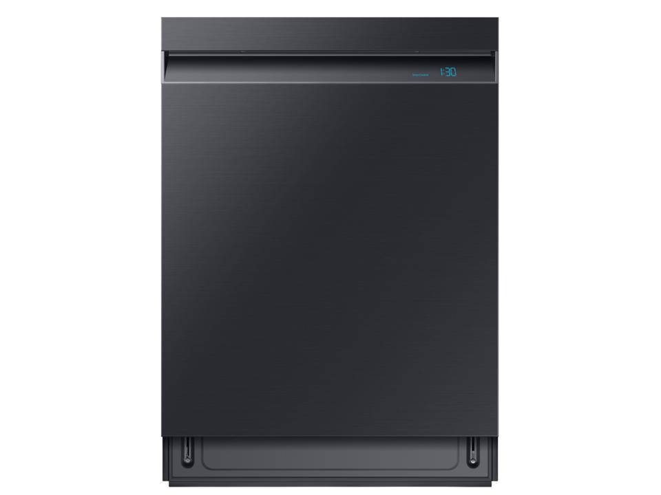 Samsung Linear Wash 39 dBA Dishwasher in Black Stainless Steel