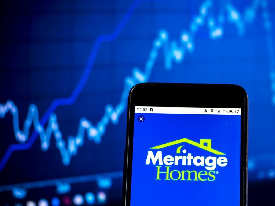 Meritage Homes Corporation Home construction company logo