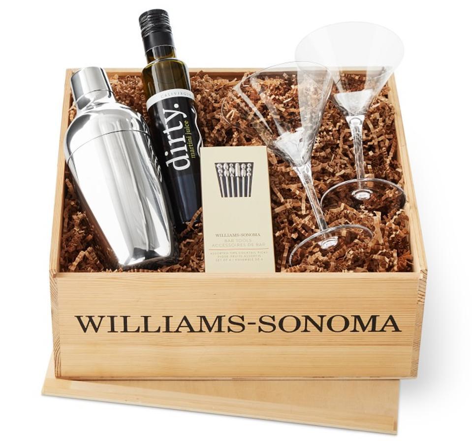 Williams Sonoma Martini Gift Crate