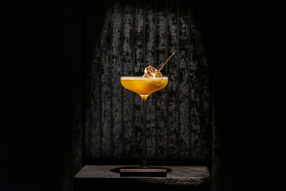 Jumping Jack, an Armagnac cocktail created by Konstantyn Wulf.