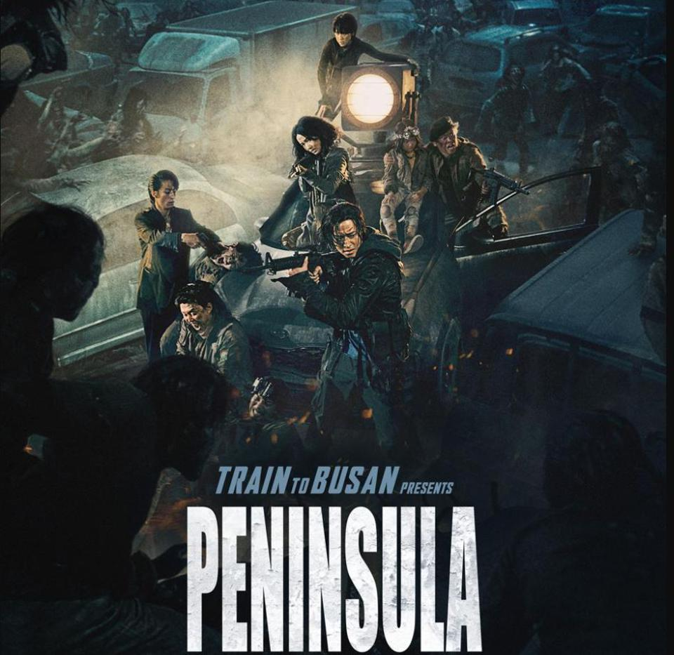 A poster of Peninsula, a sequel to Train To Busan, that hits Indian theaters on November 27.