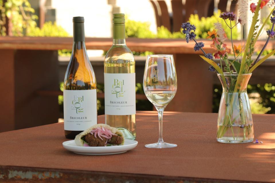 Bricoleur Vineyards wine and food pairing.