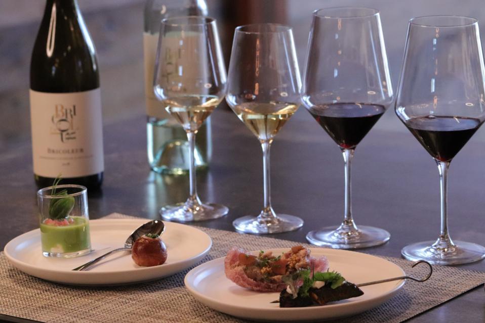 Bricoleur Vineyards' Sip & Savor experience.