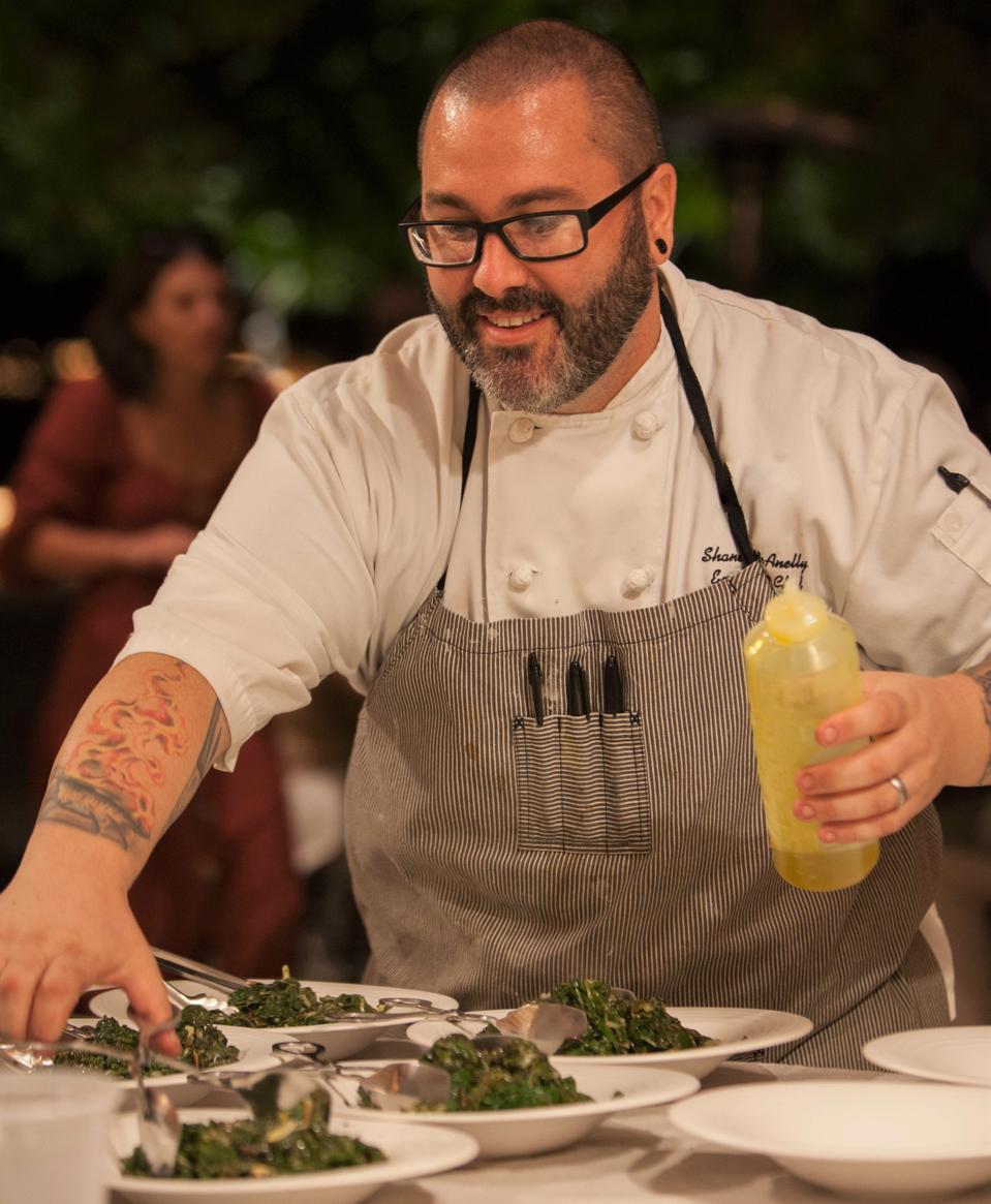 Bricoleur Vineyards' Chef Shane McAnelly.