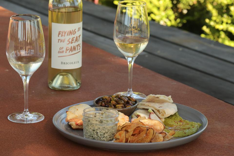 Bricoleur Vineyards food pairing.