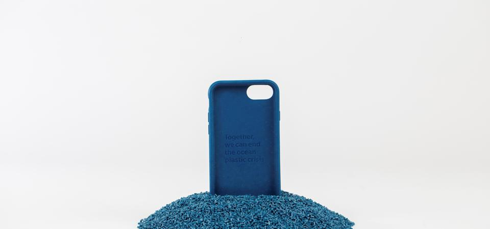 recycled ocean plastic cleanup 4Ocean iPhone case