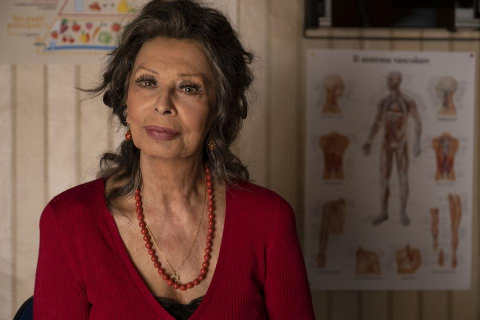 Sophia Loren as Madame Rosa in Netflix's 'The Life Ahead'
