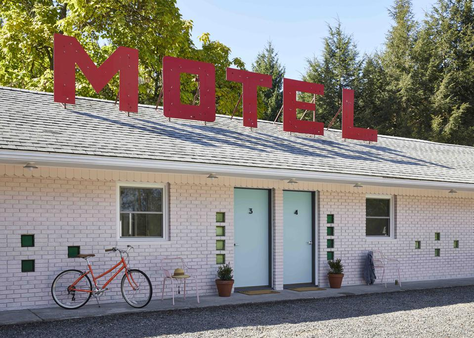 Starlite Motel's quirky and stylish design is often photographed by Instagram influencers.