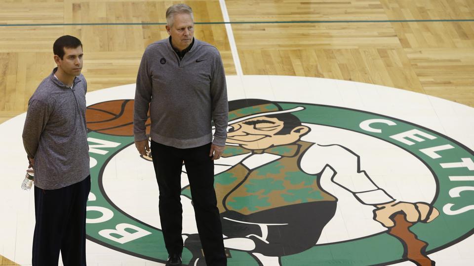 Boston Celtics Practice