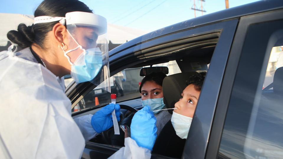 El Paso Striken With Serious Surge Of Coronavirus Cases
