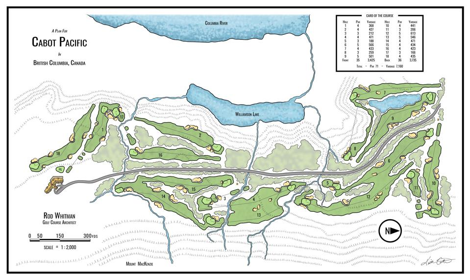Cabot Pacific course plan