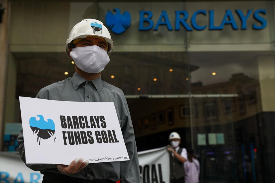 Climate Activists Target Barclays Plc Over Coal Investments