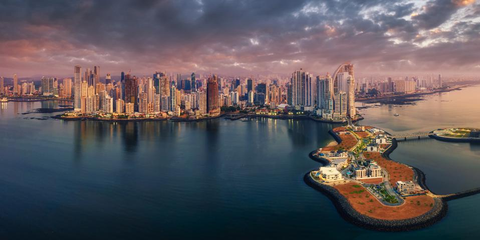 Panama City: the global headquarters for offshore ship registration