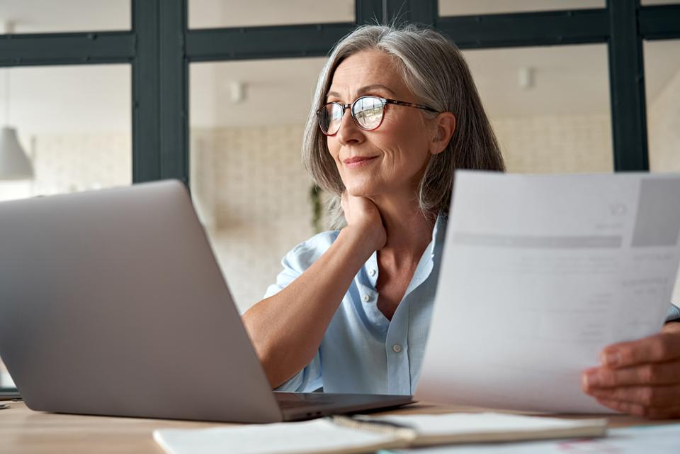 Job Search Older Woman