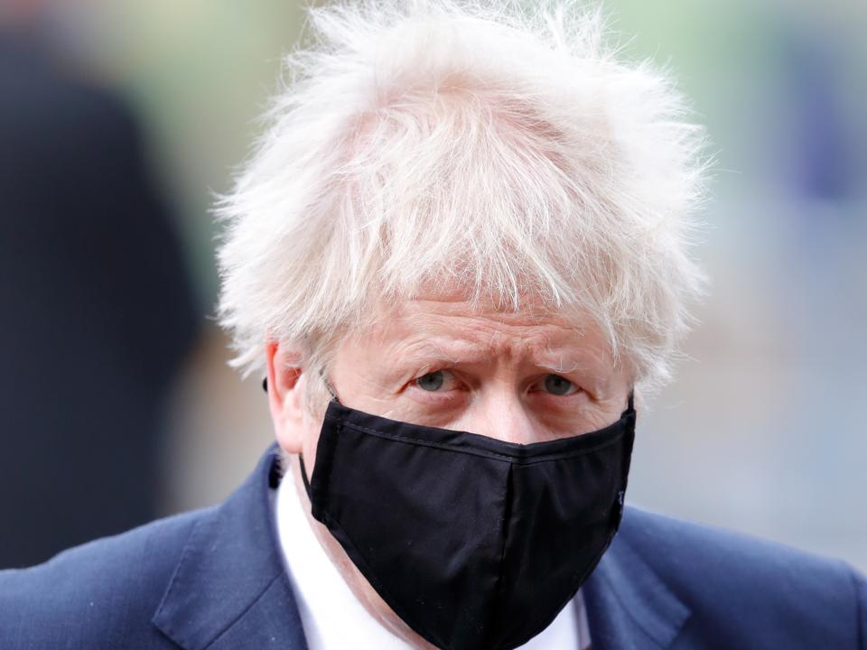 U.K. PM Boris Johnson
