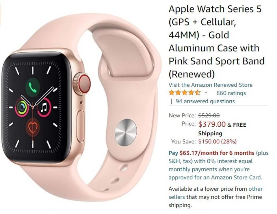 Amazon Black Friday 2020, Black Friday Amazon sales, Black Friday Apple Watch deals, Black Friday apple deals