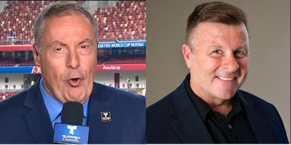 two men who are soccer experts
