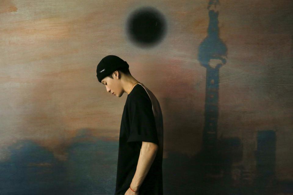 Jackson Wang, K-pop star, streetwear designer.