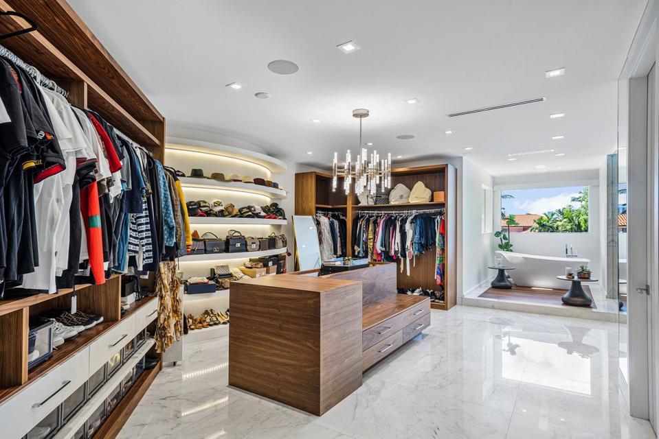 Sammy Sosa, Florida, luxury, real estate, design, beachfront, fashion closet, Compass