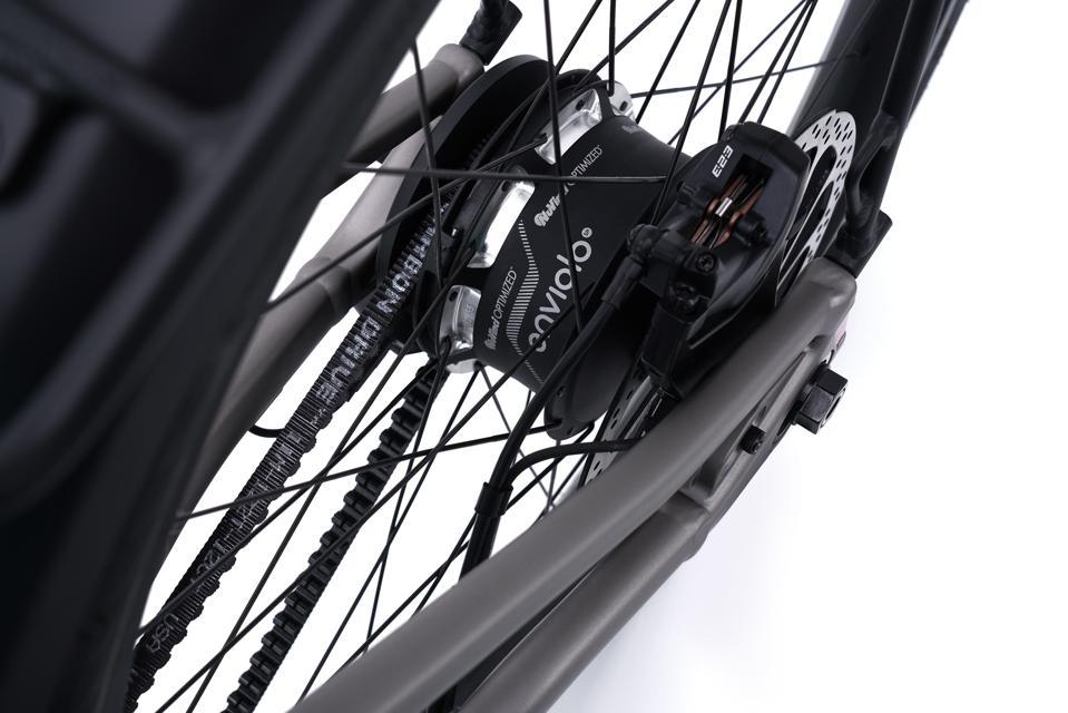 Serial 1 Evniolo rear hub.