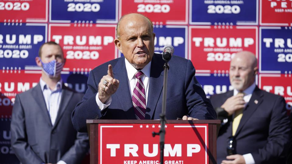 Rudy Giuliani Four Seasons Total Landscaping