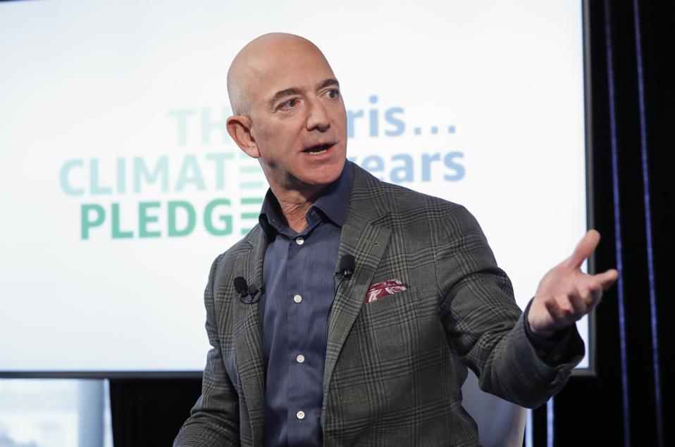 Amazon Bezos Climate