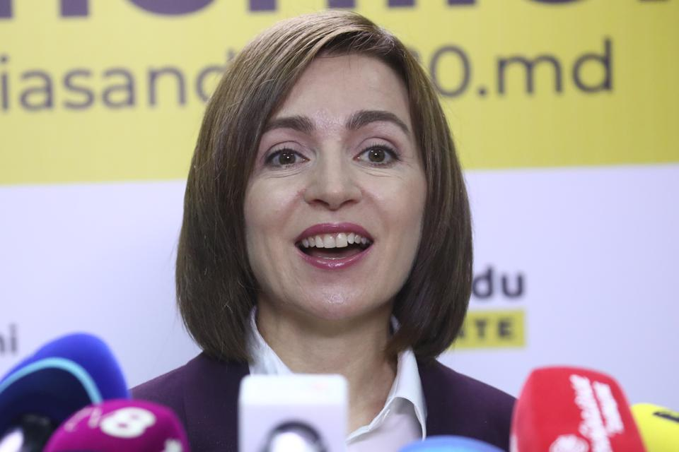 Maia Sandu projected to win 2020 Moldovan presidential election