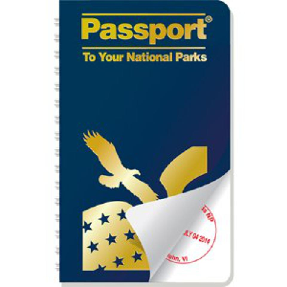 A copy of the National Park Passport book