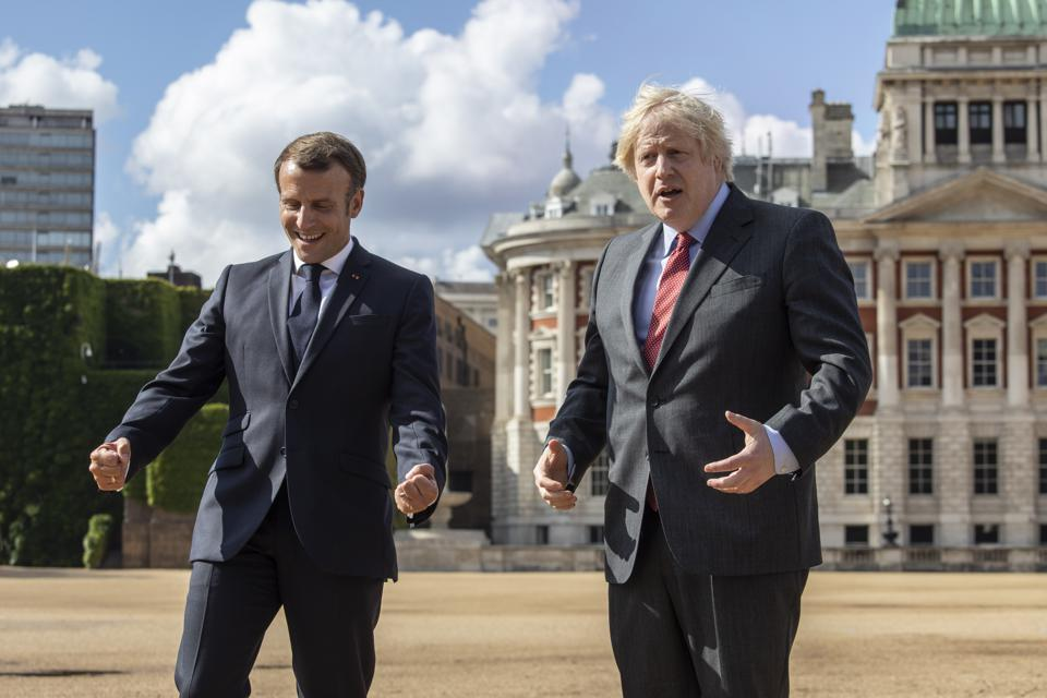 Both Macron and Johnson have invested everything on different political sides of the European question