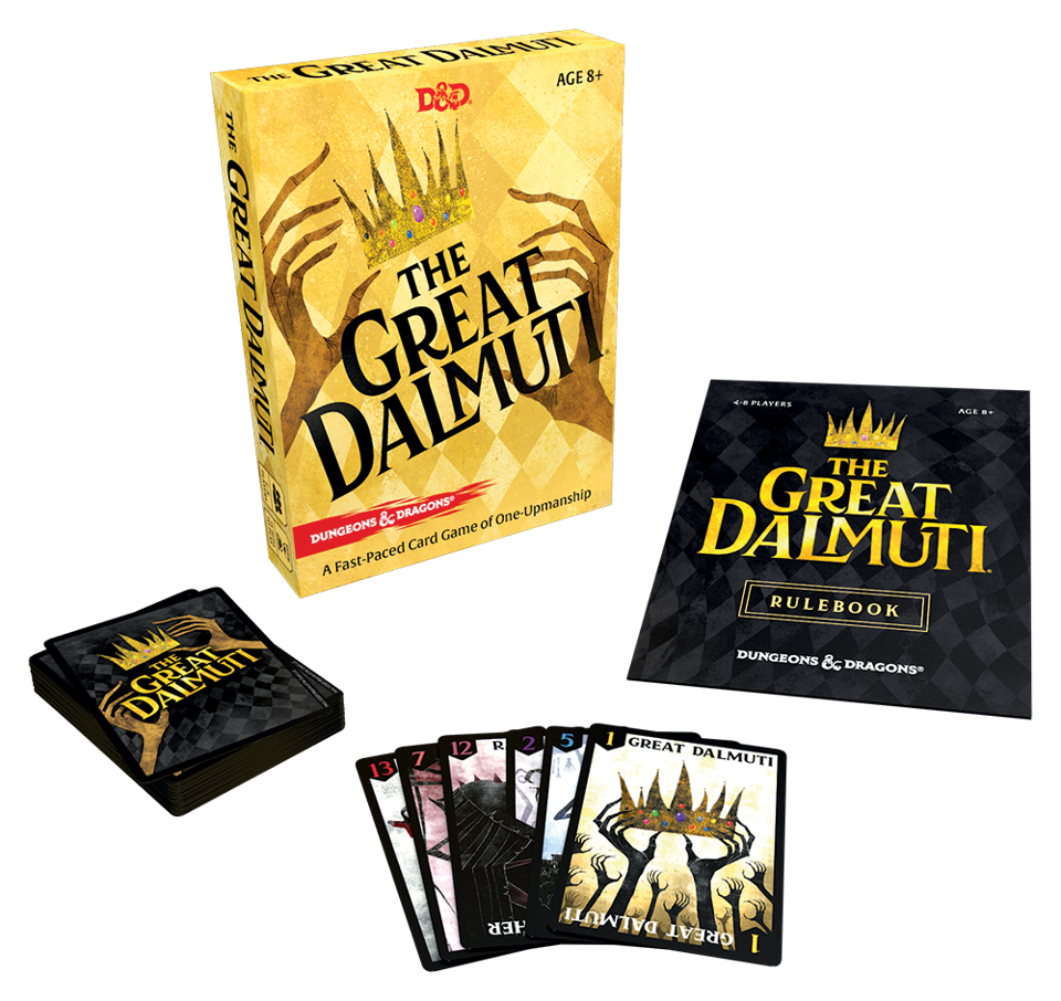 A D&D themed reprint of the Great Dalmuti