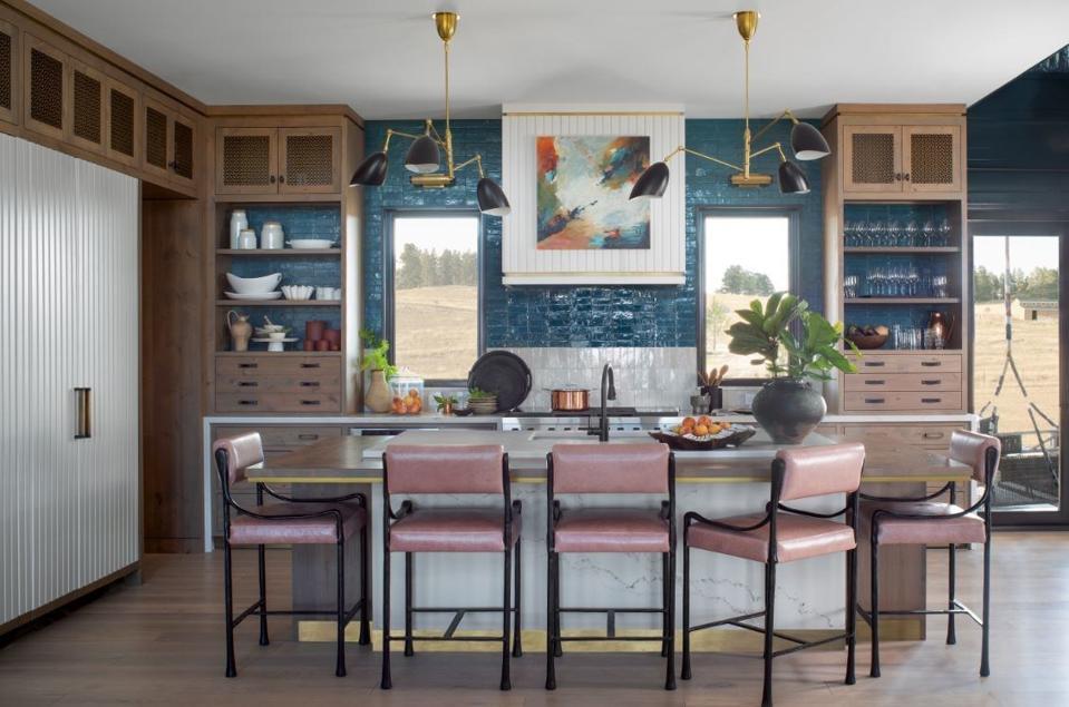 House Beautiful 2020 Concept House kitchen with Signature Kitchen Suite appliances.