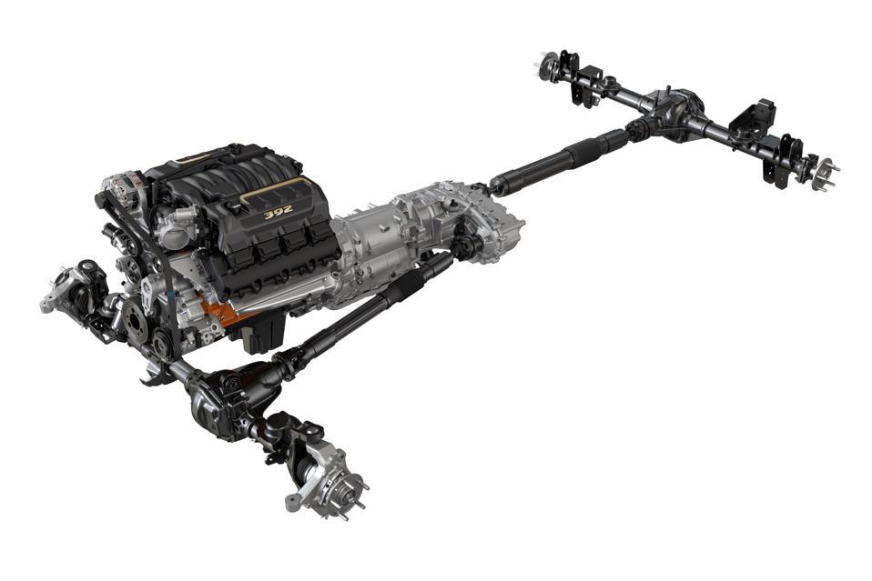 2021 Jeep Wrangler Rubicon 392 powertrain