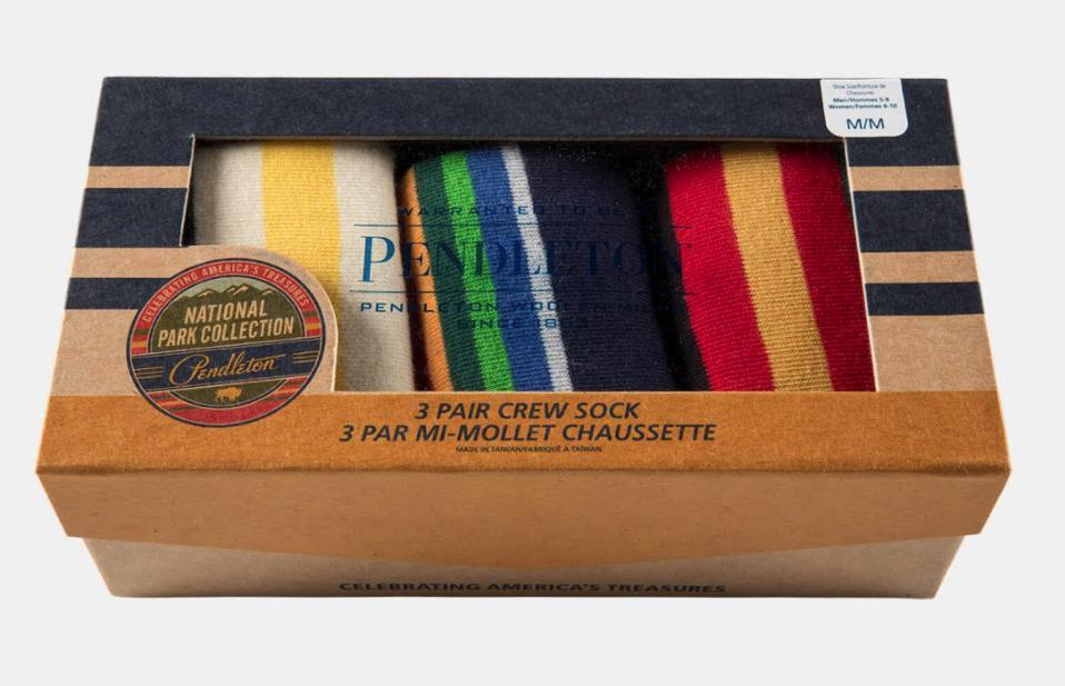 Pendleton sock set giftbox