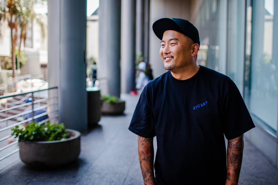 Chef Roy Choi in Los Angeles known for Korean short rib tacos and owner of Best Friends