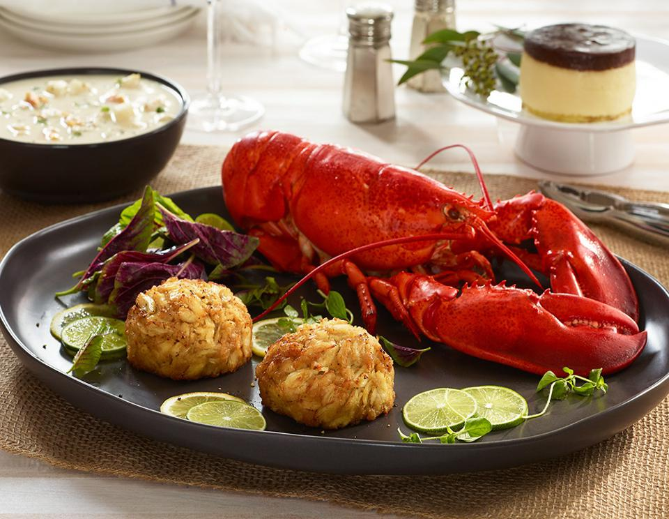 Dinner at Legal Sea Foods
